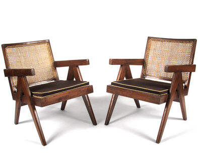 Pierre Jeanneret, 'Lounge Chairs from Chandigarh', 1952-1956