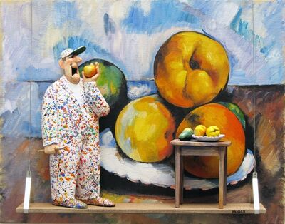 Stephen Hansen, 'Still Life with Quince, Apples, and Pears: Cezanne'
