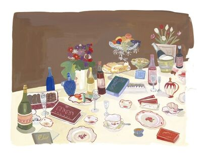 Maira Kalman, 'Champagne and Chocolate Party', 2013