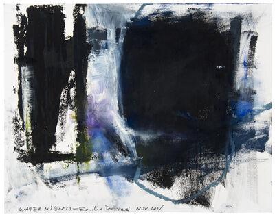 Emilia Dubicki, 'Water Night 2', 2014