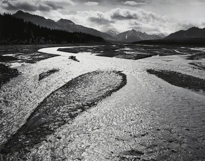 Ansel Adams, 'Teklanika River, Mount McKinley National Park, Alaska', 1947