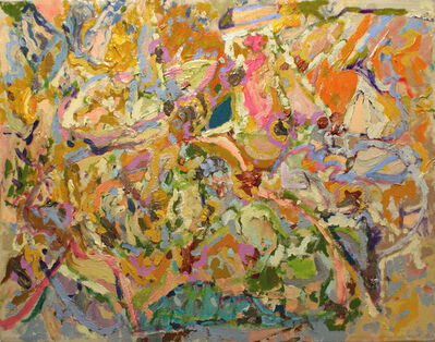 Larry Poons, '02AS-3', 2002