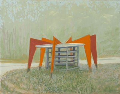 Greg Drasler, 'Bus Stop/ Check Point 6', 2020