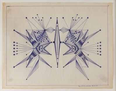 Eugene Von Bruenchenhein, 'Untitled (Oct 12 - 65)', 1965