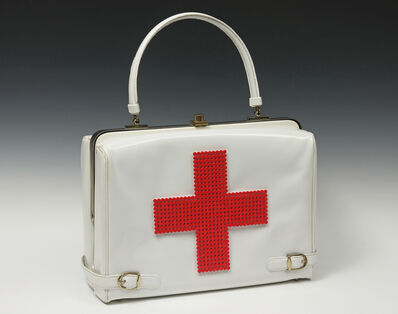 Michele Pred, 'Red Cross Purse', 2013
