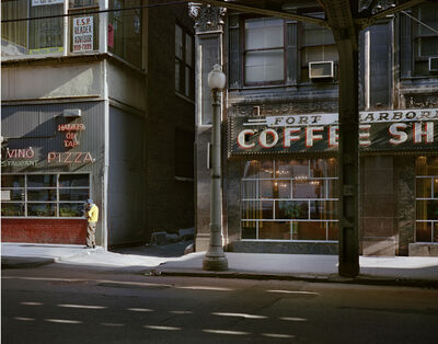 Wayne Sorce, 'Fort Dearborn Coffee, Chicago', 1977