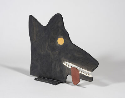 Stephen W. Evans, 'Head of a Wolf', 2018