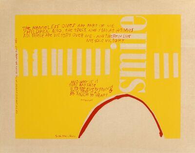 After Corita Kent, 'Untitled', circa 1965
