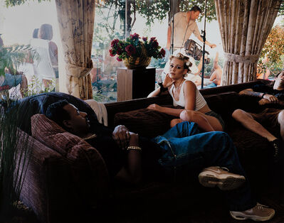 Larry Sultan, 'Tasha's Third Film from The Valley', 1998