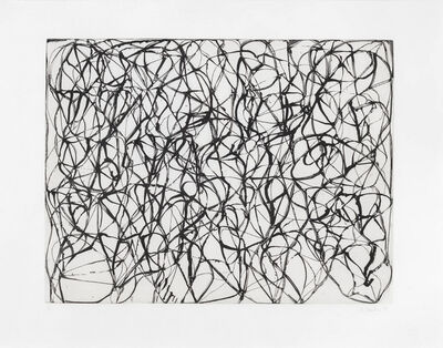 Brice Marden, 'Zen Study #2 from Cold Mountain Series', 1991