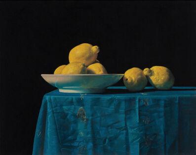 Ron Monsma, 'Lemons on a Table', 2019