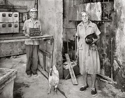 Martin Weber, 'Tengo deseos de que todos vivan bien para yo ser feliz. La Habana, Cuba', 1999