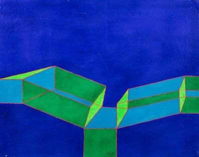 Achille Perilli, 'La debilitante convergenza', 1978