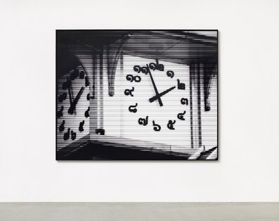 Bettina Pousttchi, 'Bangkok Time', 2011