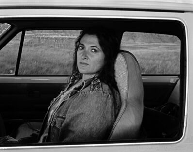 Judy Dater, 'Self-portrait in Car', 1982