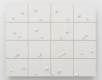 Sergio Camargo, 'Chant du Cuple en 16 temps, n. 105 -Série relevos brancos', 1966