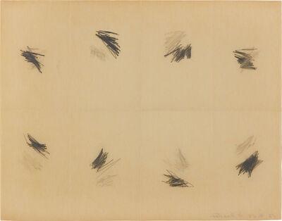 William Anastasi, 'Subway Drawing', 1968