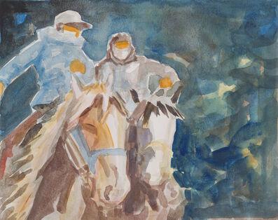 Feng Liu, 'Morning Ride', 2016