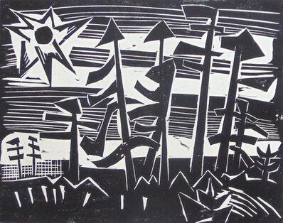 Karl Schmidt-Rottluff, 'Russian Forest | Russisches Wald', 1918