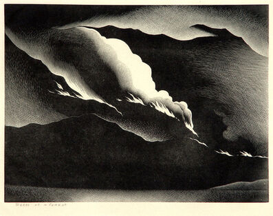 Paul Landacre, 'Death of a Forest', 1938