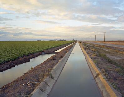 Virginia Beahan, 'Irrigation Canal, Colorado River Water', 2015