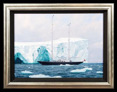 John Steven Dews, 'A Sailboat in the Artic', ca. 2000