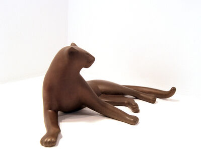 Gwynn Murrill, 'Lying Panther Maquette ', 2016