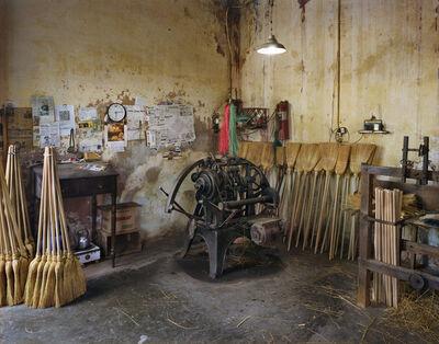 Guillermo Srodek-Hart, 'Garcia´s Broom Making Shop', 2013