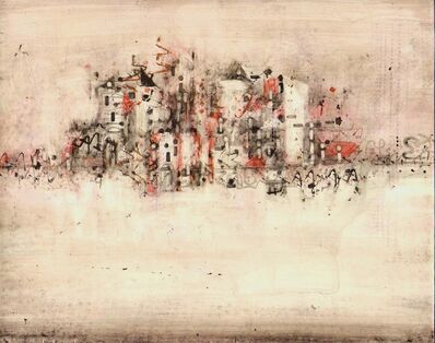 Alicia Rothman, 'Red Cityscape', 2013