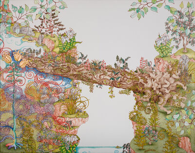 Michael Eade, 'Nurse Log Bridge', 2017