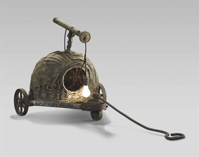 Edward Kienholz, 'Sleepy's Hollow with Handle and Wheels'