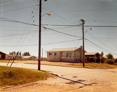 Stephen Shore, 'Wilde Street and Colonization Avenue, Dryden, Ontario, August 15, 1974'