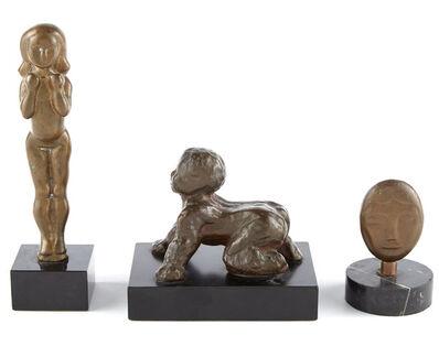 William Zorach, '(i) Standing Girl; (ii) Head; (iii) Crawling Baby'