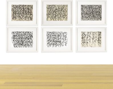 Brice Marden, 'Cold Mountain Series, Zen Study 1-6', 1991