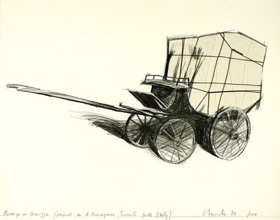 Christo, 'Package on Carrozza', 1984