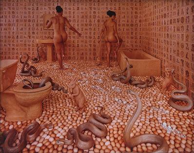 Sandy Skoglund, 'Walking on Eggshells', 1997