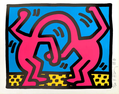 Keith Haring, 'Pop Shop II, D', 1988