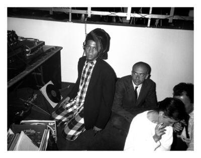 Patrick McMullan, 'Jean Michel Basquiat and Francesca Clemente at Area - April 17, 1986', 2019