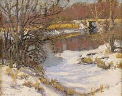Eddie Corkery, 'Winter Stream and Bridge', ca. 2008