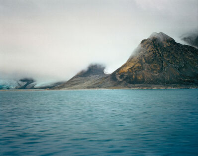 "Jacqueline Hassink, 'Lilliehöökfjorden 2, 79°14'30.8""N 11°41'32.2""E, Krossfjorden, Nordvest-Spitsbergen National Park, Svalbard, Norway, Summer, 18 August, 2016', 2016"