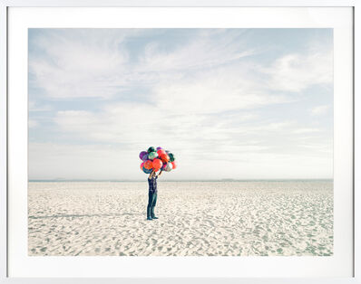 David Burdeny, 'Beach Ball Salesman'