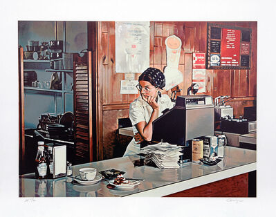 Ralph Goings, 'One Eleven Diner', 1980