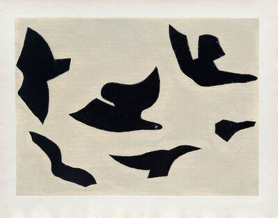 Georges Braque, 'Oiseaux VI', 1962