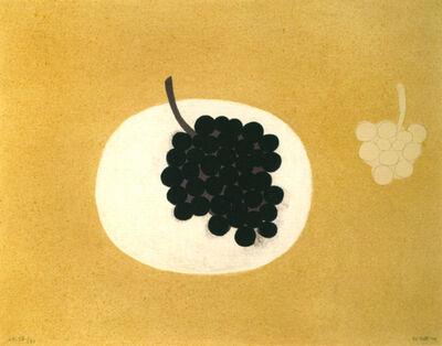 William Scott, 'Grapes', 1979