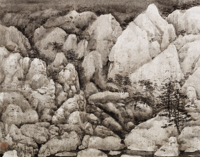 Wang Mansheng 王满晟, 'Mind Landscape Series No. 10 胸中丘壑系列10號', 2016