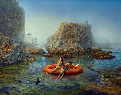 Todd Baxter, 'Shark Incident (available custom frame made by artist or unframed)', 2018