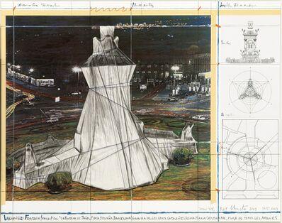 Christo, 'Wrapped Fountain ', 2009