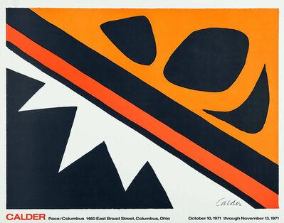 Alexander Calder, 'Alexander Calder 'La Grenouille et Cie' (Calder Pace/Columbus poster) ', 1971
