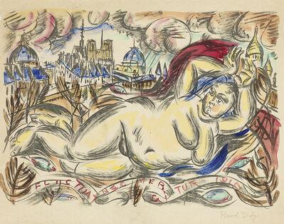 Raoul Dufy, 'Fluctuat Nec Mergitur (La Seine devant Paris).', circa 1935