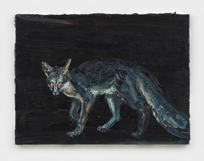 Allison Schulnik, 'Tupelo's Fox', 2019